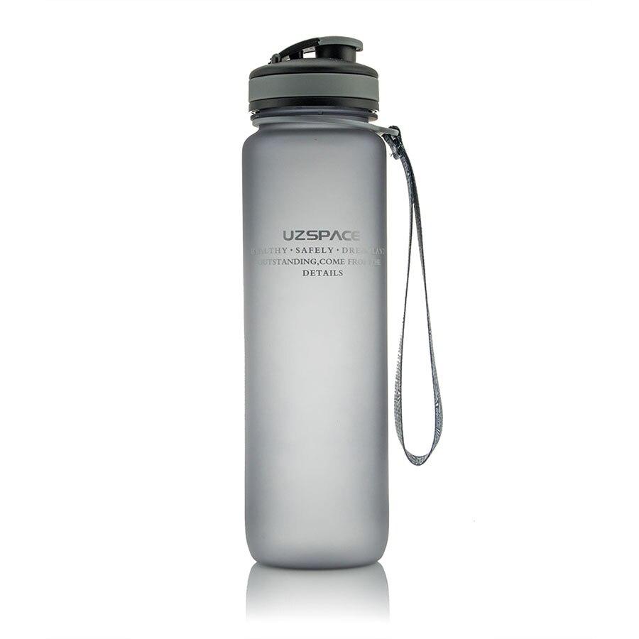 Plastic Water Bottle 1000ml High Capacity Sport Bottles Gym Water Plastic Bottle For Water Botella De Agua Drinkware 50U024