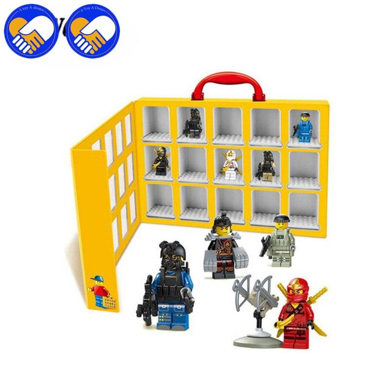 2017 New Blocks Accessories 79060 Portable Mini House Display Case Building Blocks Bricks Toys Storage Box For collection portable storage case box for fishing gadgets transparent