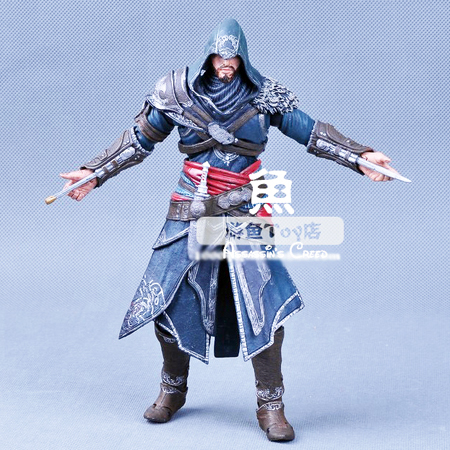 "Genuine high quality NECA Assassins Creed Altair Ezio Connor 15cm 7"" 4 Style pvc action figures classic toys for kids children"