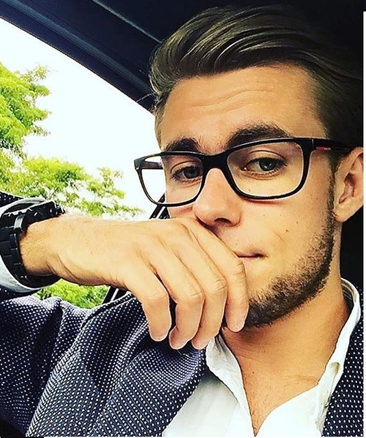 e67c428742d 2018 Fashion Women Glasses Frame Men Black Eyeglasses Frame Vintage Square  Clear Lens Glasses Optical Spectacle
