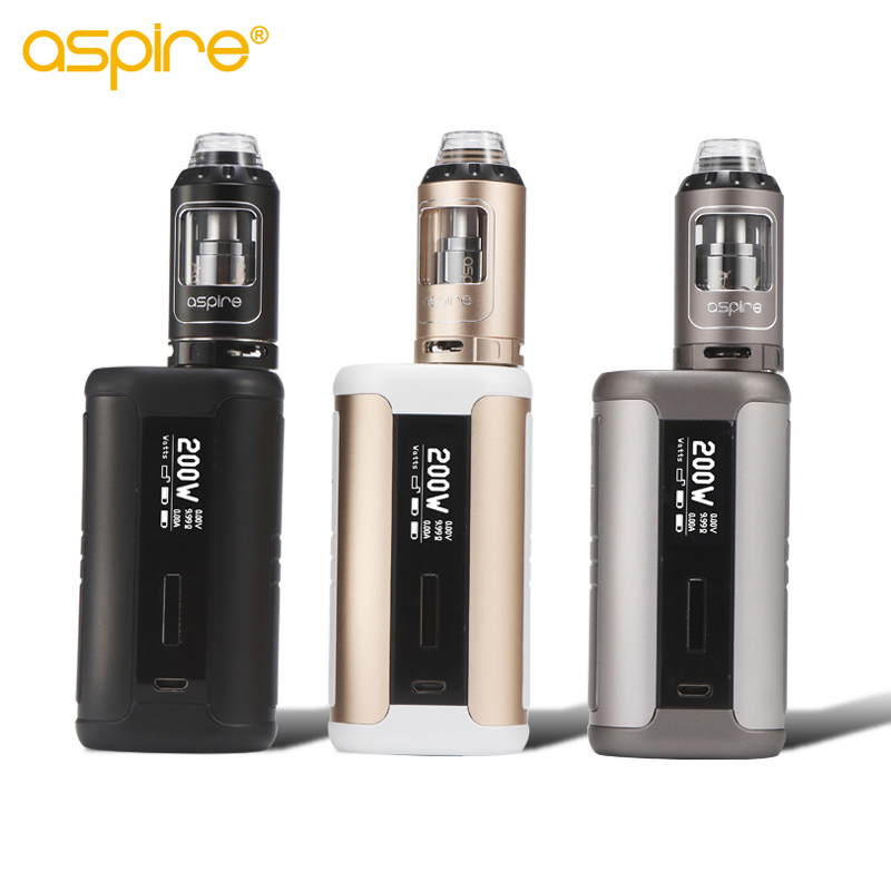 New Arrive Original Aspire Speeder 200W Kit with Aspire Athos Tank Electronic Cigarette Mod Vape Huge Cloud High Quality original aspire mechanical e cigarette aspire elite kit with 5ml large atomizer atlantis tank 3000mah battery vape kit vs eleaf