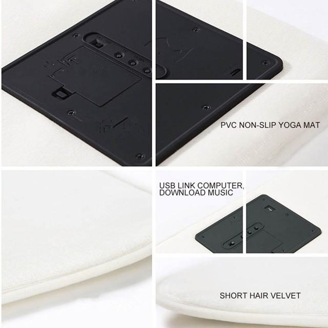 Smart Carpet Electronic Digital Clock Touch Music Mat