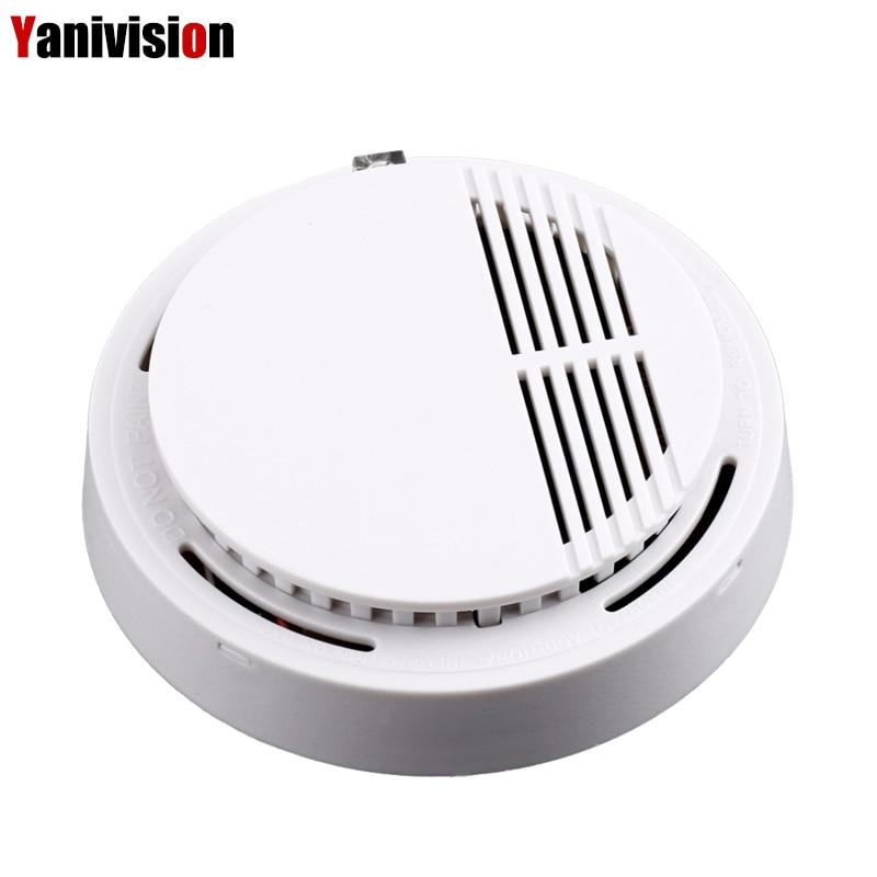 Home Security smoke detector alarm Portable High Sensitive Stable Independent alarm Smoke Detector Fire Alarm alone Sensor все цены
