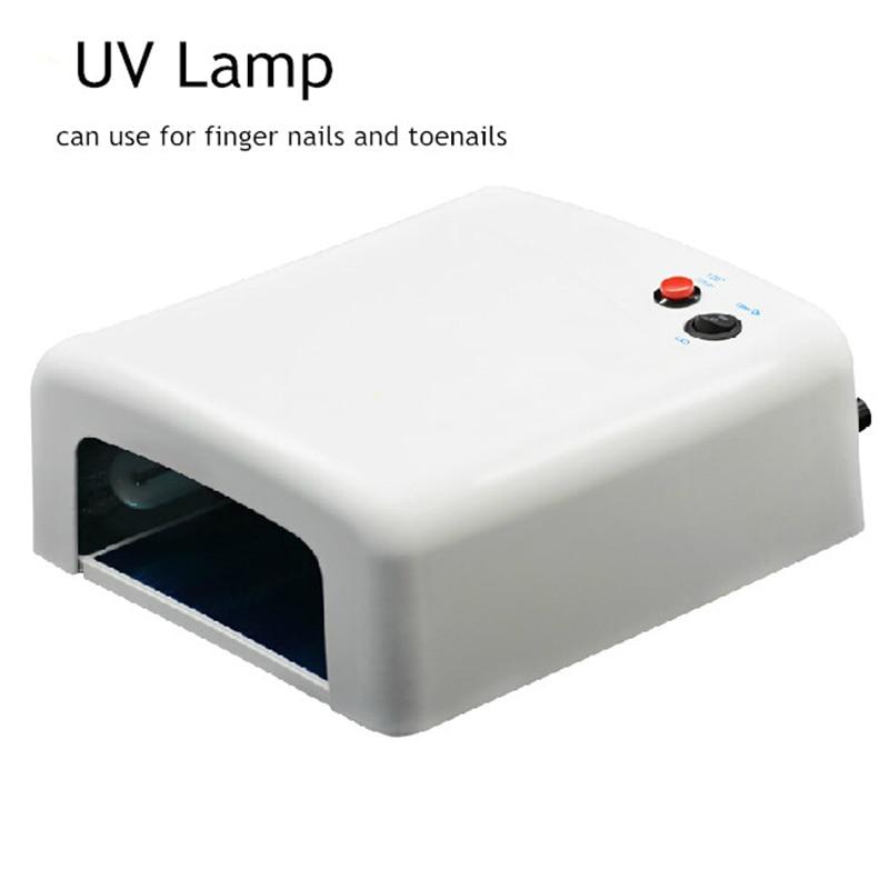 RS NAIL 36W Lámpara UV para pulidor de gel Secador NaiL profesional - Arte de uñas