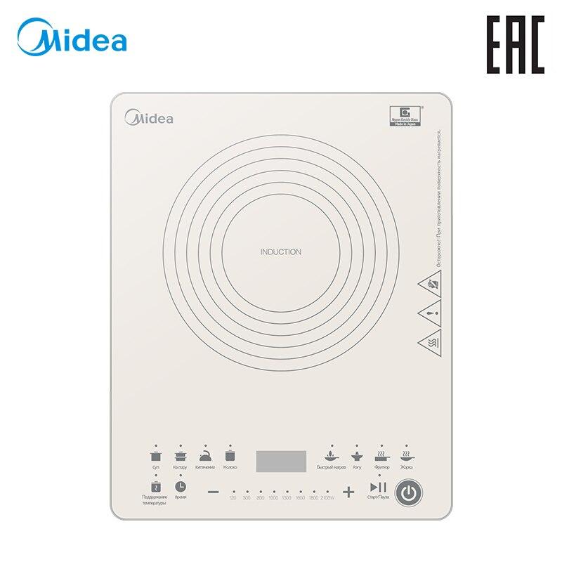 Induction cooker Midea MC-IN2111 midea electric slow cooker white porcelain yogurt bird s nest stew