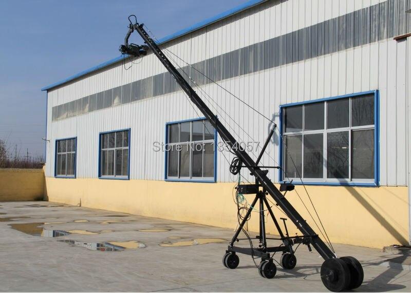 Uzaq 3 ox PTZ baş professional jimmy jib Video Kamera Kranı 8m - Kamera və foto - Fotoqrafiya 2