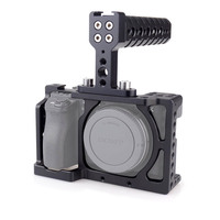 ACCSTORE Camera Cage With Top Handle For Sony A6000 A6300 A6500 ILCE 6000 ILCE 6300 ILCE
