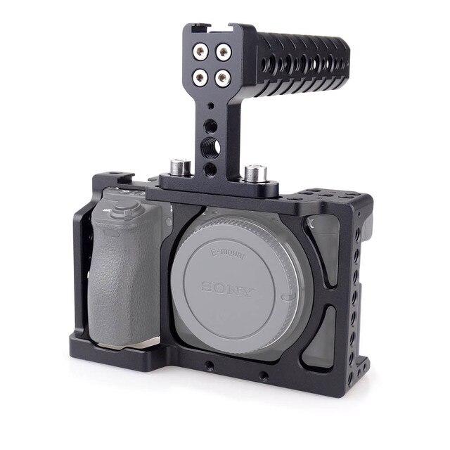 Magicrig Dslr Kamera Käfig Mit Top Griff Für Sony A6000a6300a6500