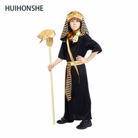 Halloween Costumes Boy Girl Ancient Egypt Egyptian Pharaoh Cleopatra Prince Princess Costume For Children Kids Cosplay