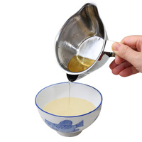Новое поступление Нержавеющаясталь масляный фильтр суп сепаратор посуда масляный фильтр масленка Кухня Инструменты Пособия по кулинарии...