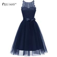 cb9475533 JLI MAY Lace Tutu Party Dress Women Clothes 3 Layers Mesh Halter Sleeveless Ball  Gown Tulle Sundress Evening Wedding Elegant