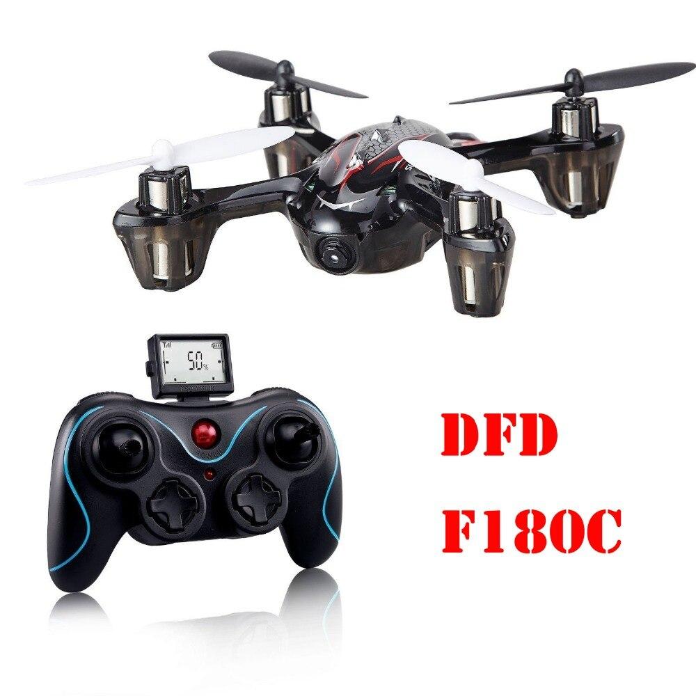 DFD F180C Mini RC Quadcopter with 720P Camera,4CH 6-Axis Gyro 2.4 GHz RTF high quality 2016 wltoys q333 c 720p camera 6 axis gyro 2 4g 4ch rtf rc quadcopter aircraft toy proportional chirstmas gifts