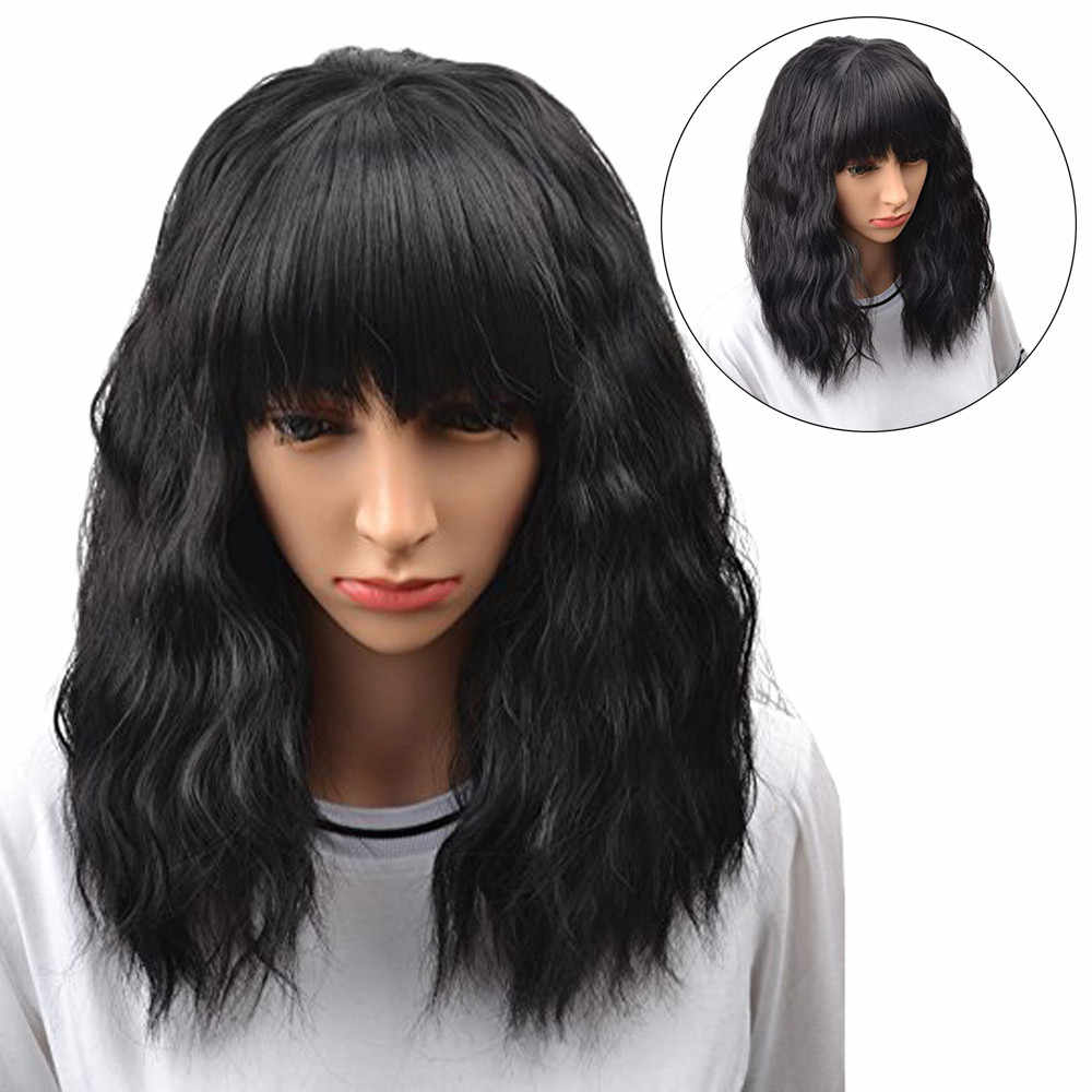 Detail Feedback Questions about Hot Sell Brazilian Natural Wave Human Hair  Wigs for Black Women Short Black Curly Bobo Wig Drop Shipping Fast Delivery  on ... fd9e064d7e