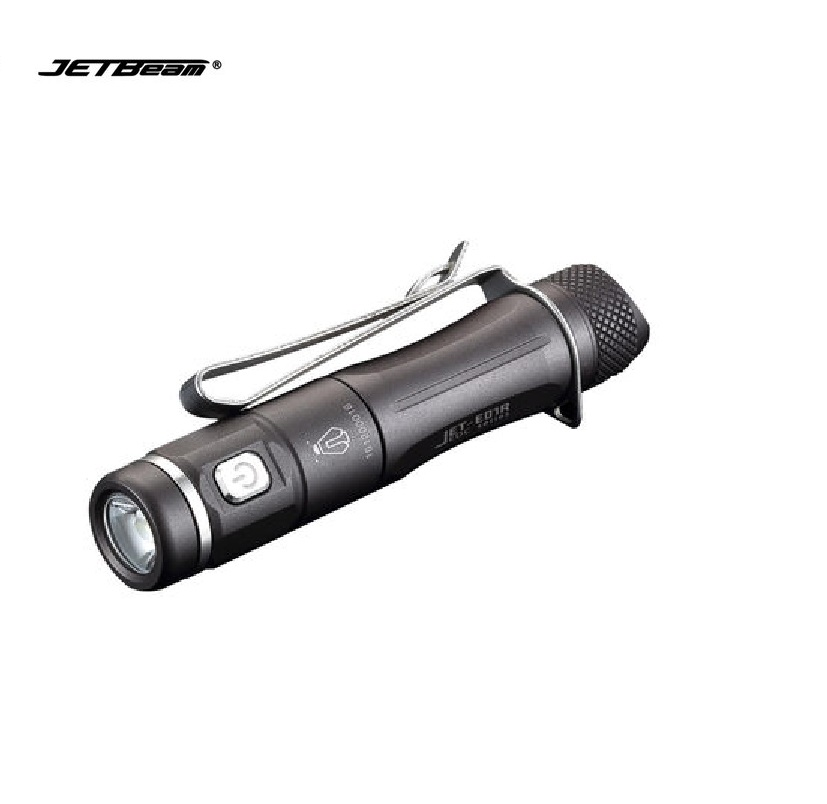 JETbeam JET-E01R Cree XP-G2 135LM Mini Portable Waterproof LED Flashlight by 1*AAA Battery super jetbeam jet 3m pro updated jet iii m cree xp l led1100 lumens flashlight 170130