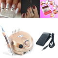 Electric Manicure Machine Nail Design Nail Files Tool Device For Manicure Pedicure Instrument+6 Polish Bits Nail Drilling