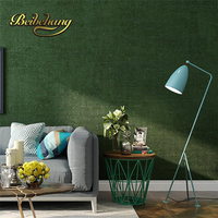 Beibehang حديث بسيط عادي الأخضر الأخضر الأرجواني خلفيات نوم غرفة المعيشة التلفزيون خلفية غير المنسوجة papel دي parede