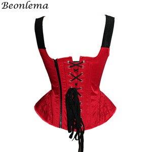 Image 2 - Corpete corpetes e corpetes de casamento corpetes e corpetes sexy corset corpete de renda bordado