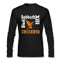 Black Sabbath Men Tshirt Latest Lovers 100 Cotton Crewneck Long Sleeve Bespoke T Shirt