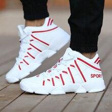 GUDERIAN New 2019 남성용 가죽 스니커즈 디자이너 신발 남성용 통기성 레이스 업 야외 산책 캐주얼 애호가 신발 Zapatillas