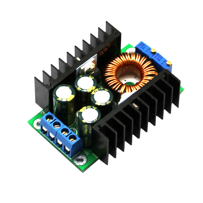 XL4016 Step-down Power DC-DC CC CV Buck Converter Supply Module XXM8 adroit dc dc cc cv buck converter step down 7 32v to 0 8 28v 12a adjustable constant voltage current power supply module 30s7327