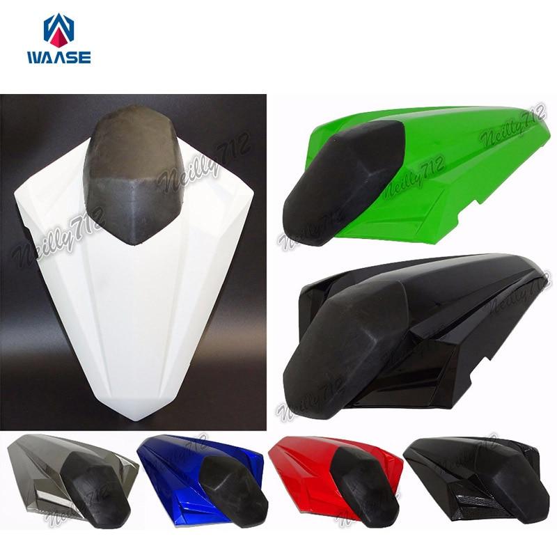 Motorcycle Rear Seat Cover Tail Section Fairing Cowl For Kawasaki Ninja300 Ninja 300 EX300 ZX300R Z250 Z300 2013 2014 2015 2016 speedometer tachometer gauge clock case cover for kawasaki ninja ex300 300r 300se 2013 2014 2015