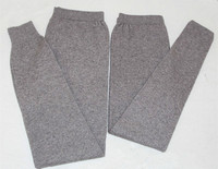 100% козья кашемировые утепленные леггинсы унисекс обтягивающие штаны Зимние основы брюки 2 шт./компл. для любителей S 3XL