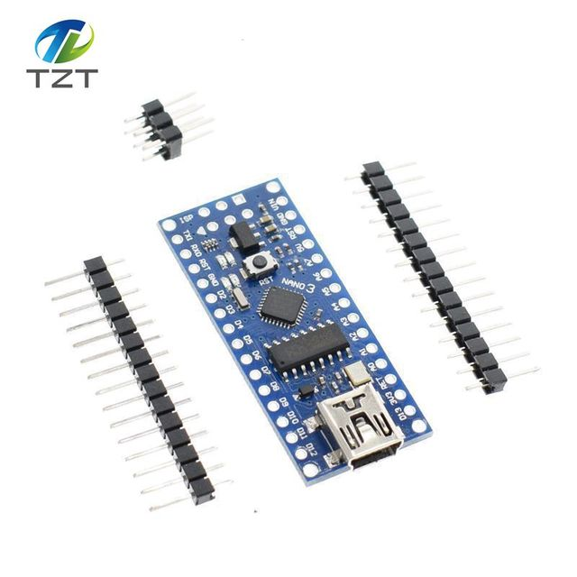US $1 92 |1PCS Mini USB With the bootloader Nano 3 0 controller compatible  for Arduino CH340 USB driver 16Mhz NANO V3 0 Atmega328 MCU-in Integrated