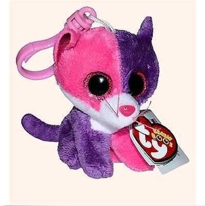 TY Beanie Boos Big Eyes 8cm Cat Stuffed Animals Mini Plush Pendant Soft Toys  For Children 9f122114a7b