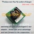 SSOP28 к DIP28 Программист адаптер OTS-28-0.65-01 IC Тест Разъем Шаг = 0.65 мм (По Вертикали)