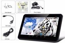 Diseño perfecto de 10 Pulgadas Quad Core Android Tablet 1 GB Ram 16 GB Tabletas Pc 1 GB 16 GB de Rom Wi-Fi Bluetooth Big Bettery Diseño Agradable