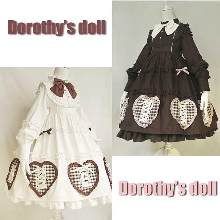 370de1a94bf1 Buy lolita dress beige and get free shipping on AliExpress.com