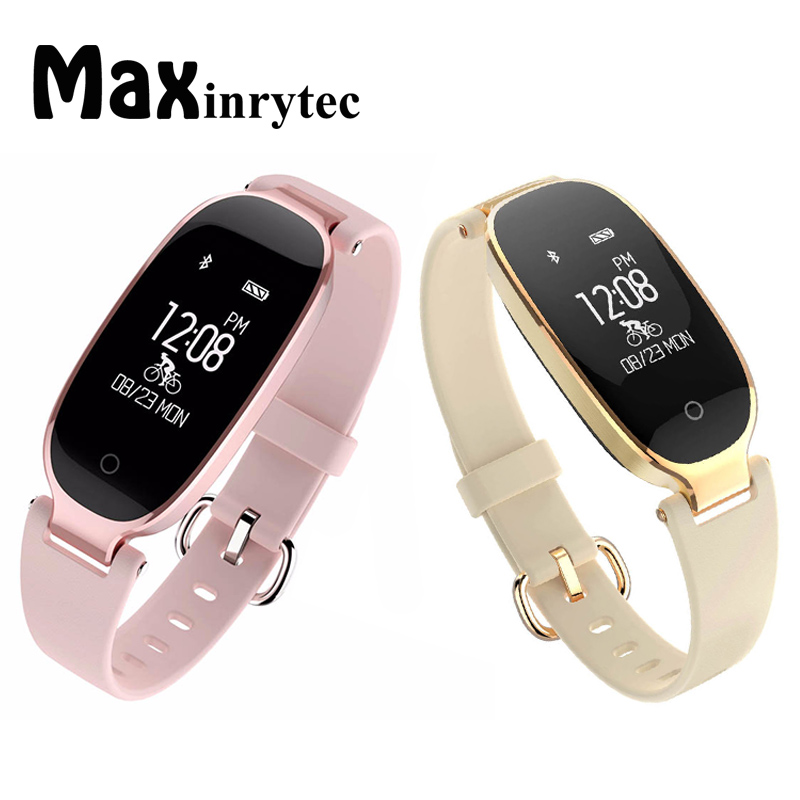 maxinrytec s3 bluetooth smart watch fashion women ladies. Black Bedroom Furniture Sets. Home Design Ideas