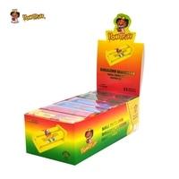 HONEYPUFF 12PCS Premium Plastic Cigarette Rolling Machine Suitable 70MM Size Paper Manual Tobacco Smoking Roller Pocket Size