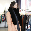 New Autumn Winter Scarf Women Faux Fox Fur Ultra Long Scarves Fashion Hot Sale Promotion Large Scarf