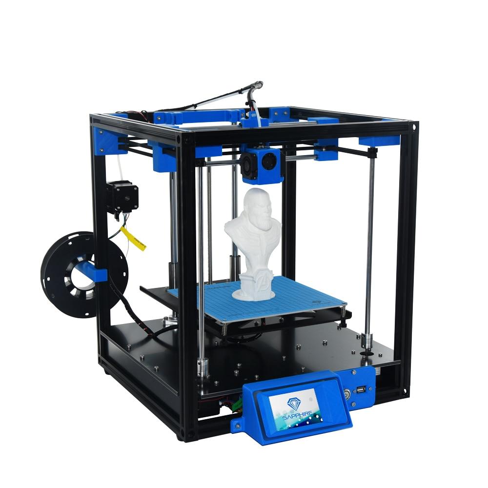 Newest High-precision Sapphire 3D Printer Aluminium Profile Frame (200*200mm) Big Area DIY Kit Area CoreXY System area