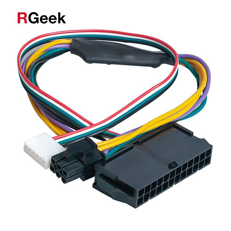 Основной адаптер питания PCI-E ATX с 24 контактами на 6 контактами, кабель для рабочей станции HP Z220/Z230, 12 дюймов (30 см)