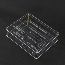 2 layers Prototype Mounting Plate Acrylic Raspberry pi 3 Experiment Plate for Raspberry Pi & Raspberry Pi 2 Model B / B+