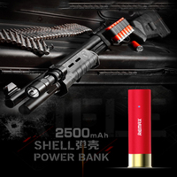 Remax 2500mah Power Bank Bullet Shell Powerbank Bateria Externa Back Charger For Iphone5 6 7 Plus