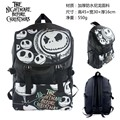 Movie The Nightmare Jack Skellington Before Christmas Waterproof Laptop Monochrome Backpack/Double-Shoulder Bag/School Bag