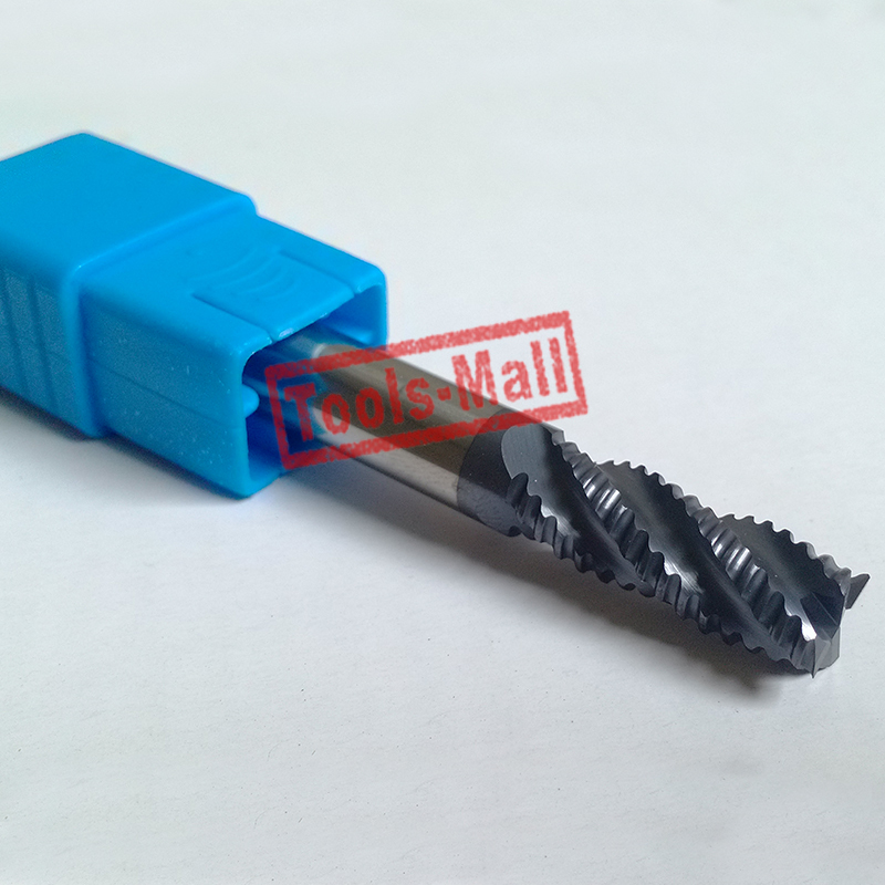 1pc 12mm hrc55 D12 45 D12 100 4Flutes Roughing End Mills Spiral Bit Milling Tools Carbide