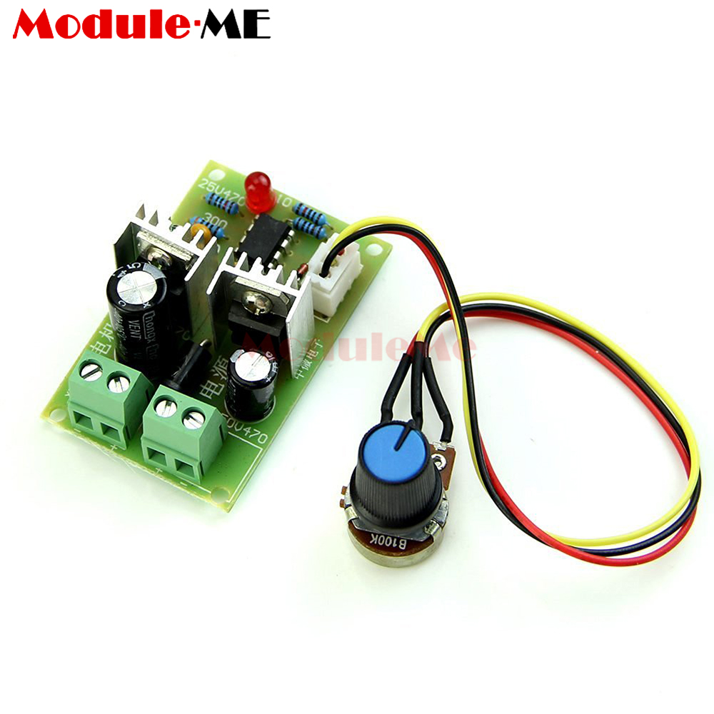 3a Pulse Width Pwm Dc Motor Speed Regulator Controller Switch 12v/24v/36v With The Most Up-To-Date Equipment And Techniques Electronic Components & Supplies