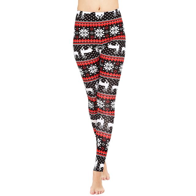 Christmas Print High Elasticity Leggings (20+ Styles)