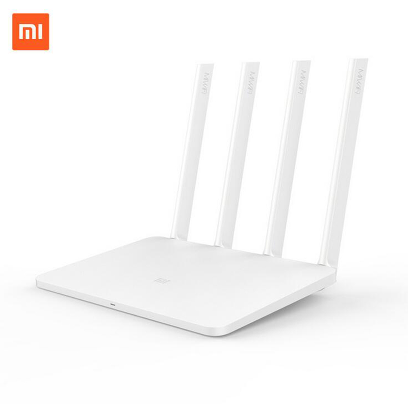 English Version Original XiaoMi Router 3 ROM 128M WIFI Repeater 2 4G 5 0GHz 1167Mbps 4