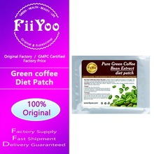 2 bags, 10 PATCHES FASTEST LOSS FAT GREEN COFFEE BEAN EXTRACTS HERBAL SLIMMING PATCH