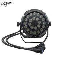 屋外防水 Led パーライト 24 × 12 ワット RGBW 4in1 または 6in1 LED パー 24*18 ワット DMX512 IP65 防水染色ライト -
