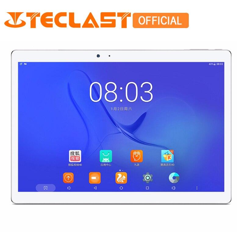 Teclast T10 Android 7.0 MT8176 Hexa Core 4 gb di RAM 64 gb ROM 8.0MP + 13.0 MP HDMI Sensore di Impronte Digitali 10.1