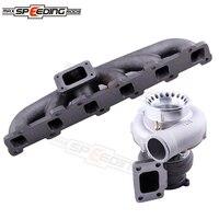 Exhaust Manifold T3 GT3582 Turbo For Nissan Safari Patrol 4 2L TD42 TB42 TB45 Diesel GQ