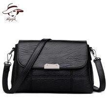New Fashion Mini Flap Women Messenger Soft Crossbody Bag Famous Brand Designer PU Leather Shoulder Handbag Vintage Purses Clutch