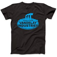 Vandelay Industries T-Shirt 100% Premium Cotton Jerry Seinfeld Shirts Homme Novelty T shirts Men