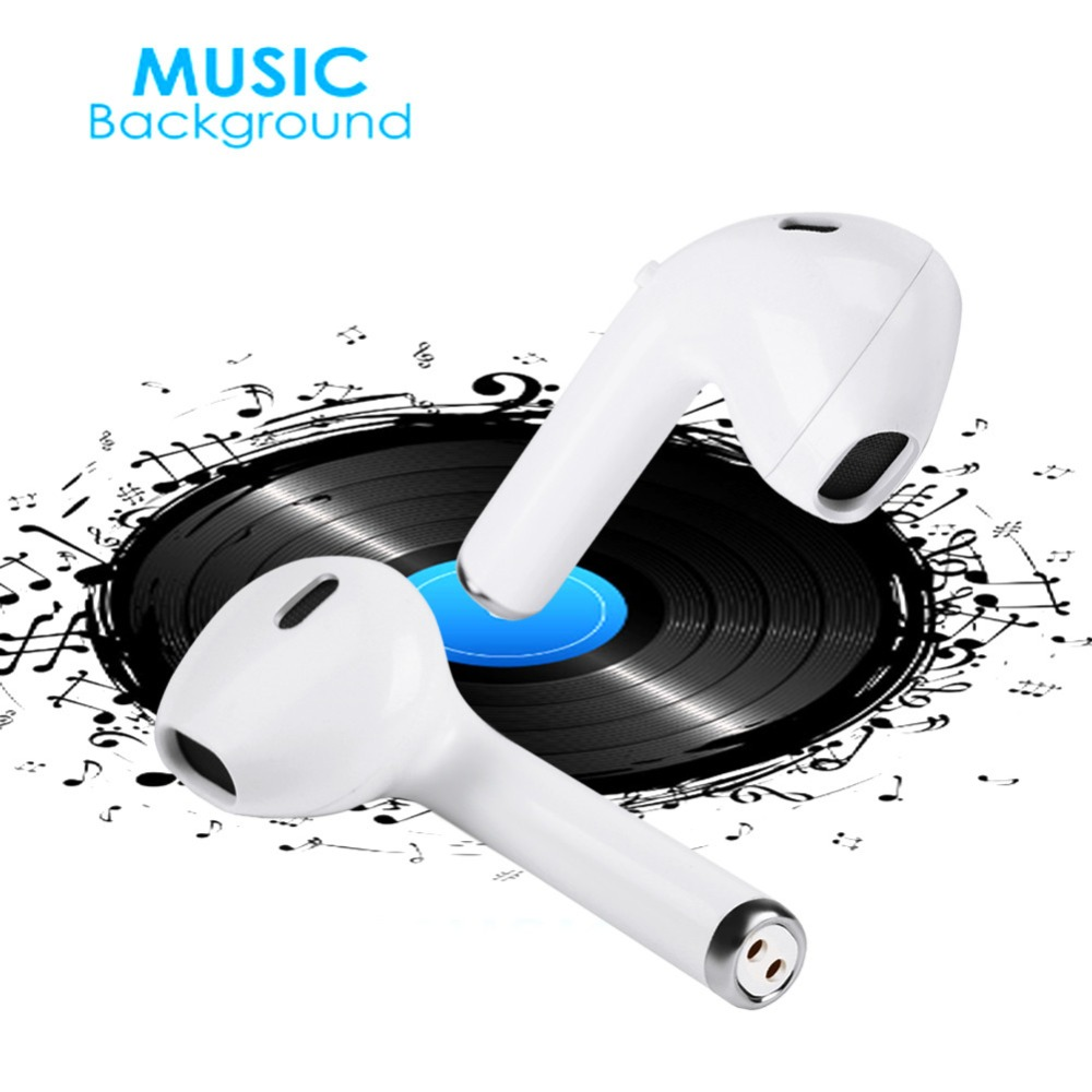 XINGDOZ 1 pair <font><b>i8</b></font> <font><b>tws</b></font> Mini Bluetooth <font><b>Earphone</b></font> Wireless <font><b>Earphones</b></font> With Charge Box Sport Stereo with mic For phone X iPhone N30C image